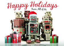 Robo Squad Holiday Cards